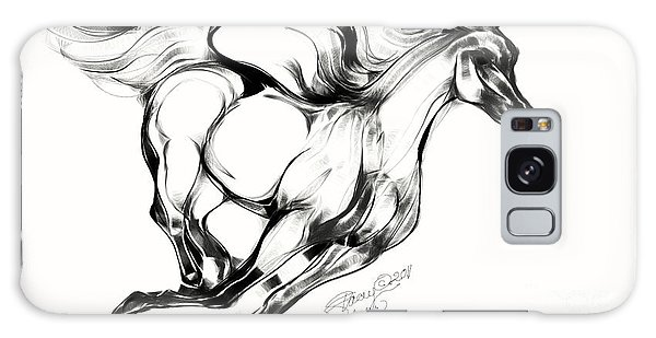 Running Horse Galaxy Case by Stacey Mayer