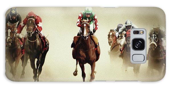Running Horses In Dust Galaxy Case
