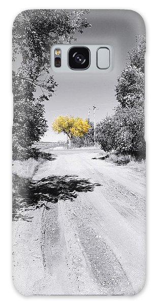 Rural Autumn Splash Galaxy Case