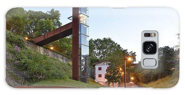 Rural Elevator Pamplona Spain Galaxy Case by Marek Stepan