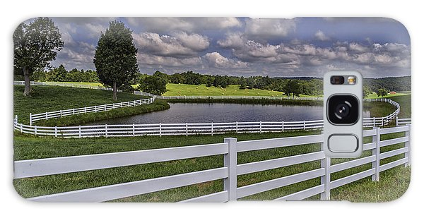 Rural Kentucky Landscape Galaxy Case by Wendell Thompson