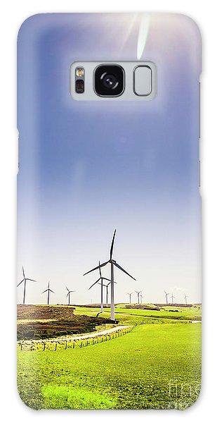 Wind Power Galaxy Case - Rural Power by Jorgo Photography - Wall Art Gallery