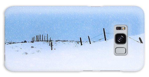 Rural Prairie Winter Landscape Galaxy Case by Blair Wainman