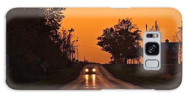 Rural Galaxy S8 Case - Rural Road Trip by Steve Gadomski
