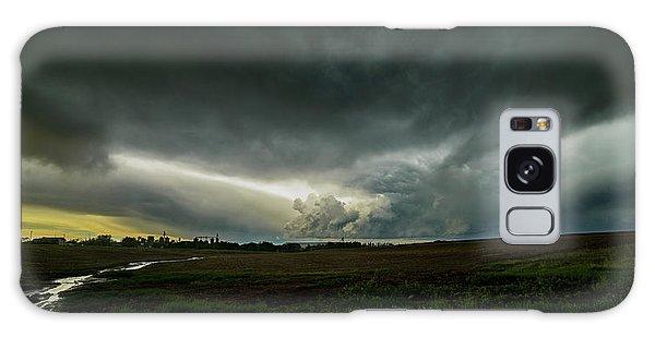 Rural Spring Storm Over Chester Nebraska Galaxy Case