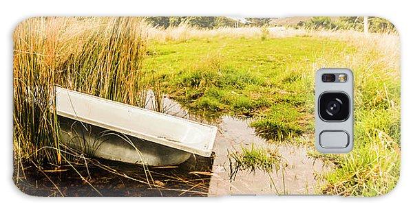 Bath Galaxy Case - Rural Tasmania Farm Scene by Jorgo Photography - Wall Art Gallery