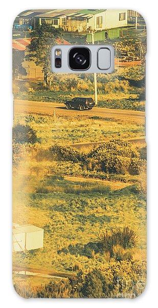 Automobile Galaxy Case - Rural Tasmania Landscape At Summer by Jorgo Photography - Wall Art Gallery