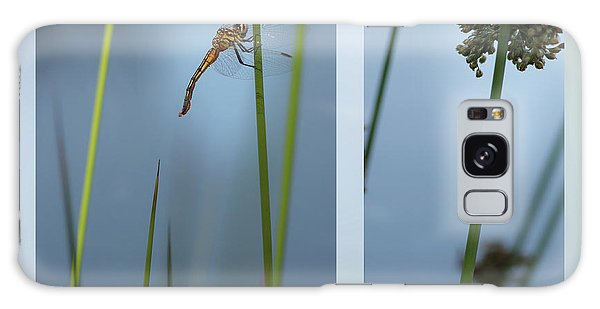 Rushes And Dragonfly Galaxy Case
