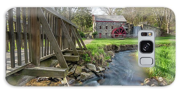 Rushing Water At The Grist Mill Galaxy Case