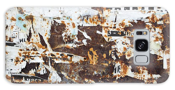 Rust And Torn Paper Posters Galaxy Case by John Williams