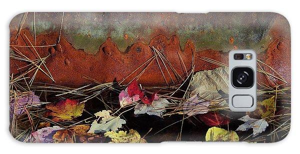 Metal Leaf Galaxy Case - Rust by Jerry LoFaro