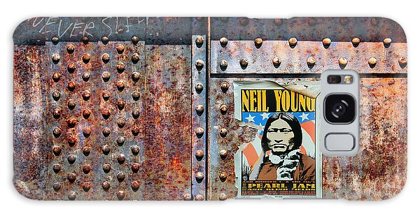 Neil Young Galaxy S8 Case - Rust Never Sleeps, Neil Young by Mal Bray