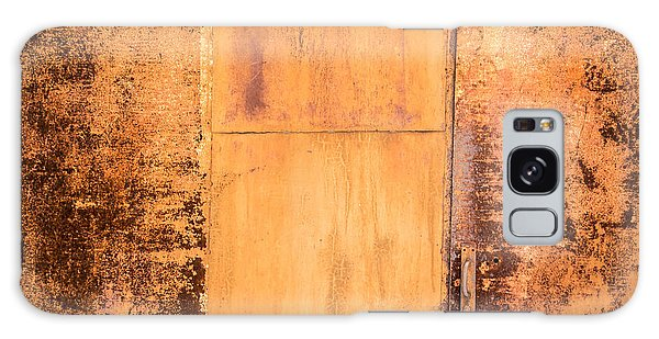 Rust On Metal Texture Galaxy Case by John Williams