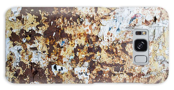 Rust Paper Texture Galaxy Case by John Williams