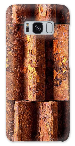 Rusted Gears 2 Galaxy Case by Jim Hughes