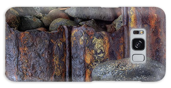 Rusted Stones 3 Galaxy Case by Steve Siri