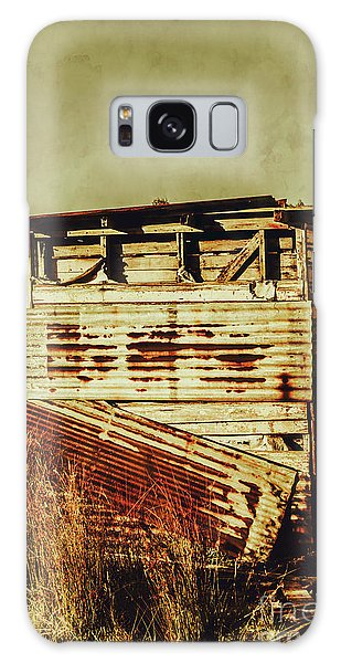 Shed Galaxy Case - Rustic Abandonment by Jorgo Photography - Wall Art Gallery