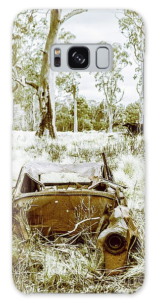 Wasted Galaxy Case - Rustic Australian Car Landscape by Jorgo Photography - Wall Art Gallery