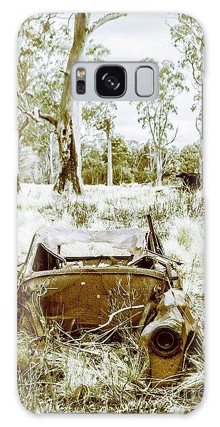 Old Car Galaxy Case - Rustic Australian Car Landscape by Jorgo Photography - Wall Art Gallery