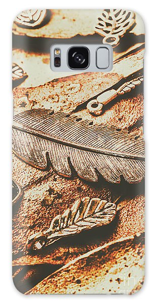 Metal Leaf Galaxy Case - Rustic Autumn Accessories by Jorgo Photography - Wall Art Gallery