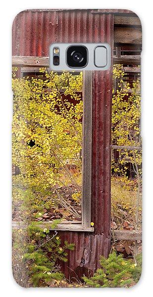 Rustic Autumn Galaxy Case by Leland D Howard
