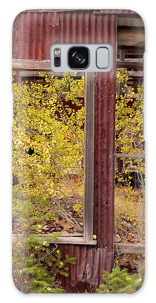 Rustic Autumn Galaxy Case by Leland D Howard