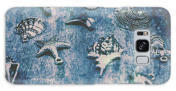 Seaside Galaxy Case - Rustic Blue Beach Art by Jorgo Photography - Wall Art Gallery