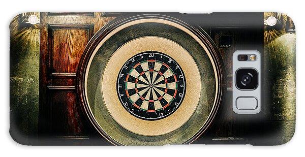Rustic British Dartboard Galaxy Case