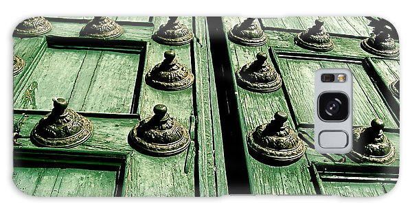 Rustic Church Door Galaxy Case