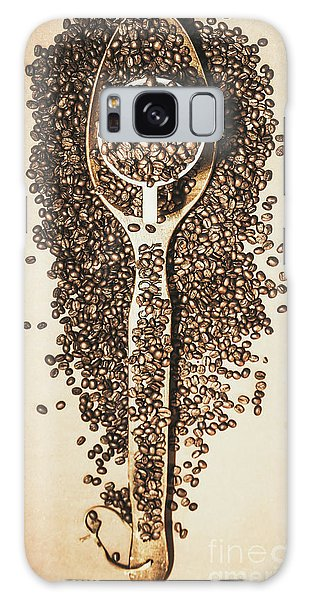 Cafe Galaxy Case - Rustic Drinks Artwork by Jorgo Photography - Wall Art Gallery