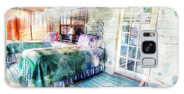 Rustic Look Bedroom Galaxy Case