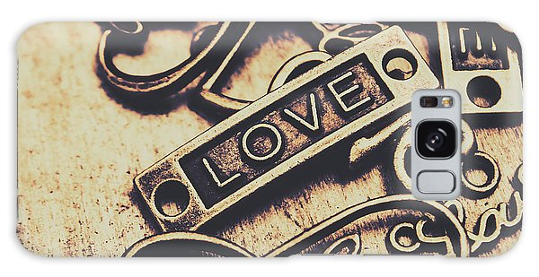 Pendant Galaxy Case - Rustic Love Icons by Jorgo Photography - Wall Art Gallery