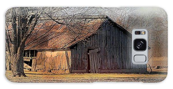 Rustic Midwest Barn Galaxy Case
