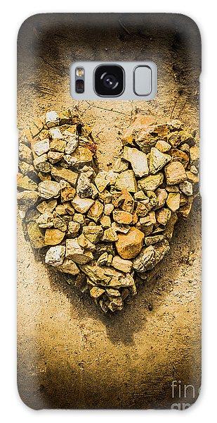 Stone Wall Galaxy Case - Rustic Rock Romance by Jorgo Photography - Wall Art Gallery