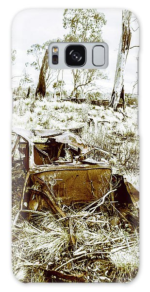 Old Car Galaxy Case - Rustic Rural Decay by Jorgo Photography - Wall Art Gallery