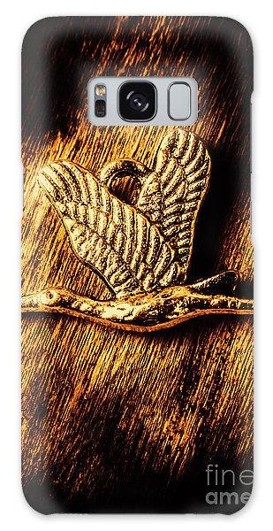 Stork Galaxy S8 Case - Rustic Stork Pendant by Jorgo Photography - Wall Art Gallery