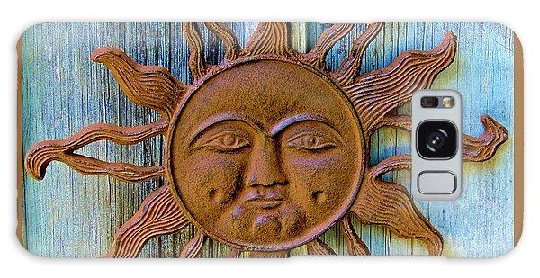 Rustic Sunface Galaxy Case