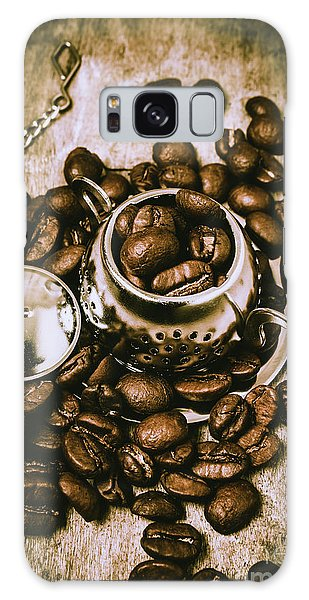 Cafe Galaxy Case - Rustic Teapot Art by Jorgo Photography - Wall Art Gallery