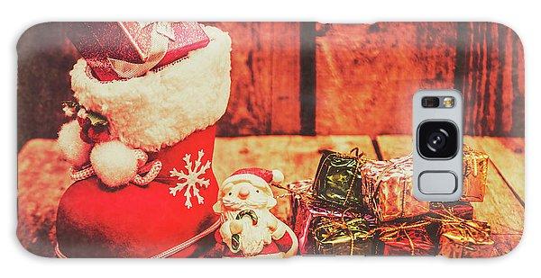 Santa Claus Galaxy Case - Rustic Xmas Decorations by Jorgo Photography - Wall Art Gallery