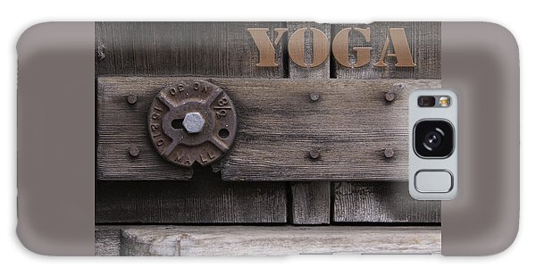 Rustic Yoga Galaxy Case by Kandy Hurley