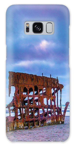 Peter Iredale Galaxy Case - Rusting Peter Iredale by Garry Gay