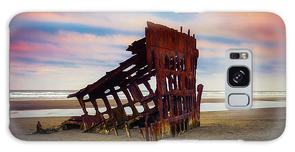 Peter Iredale Galaxy Case - Rusting Shipwreck by Garry Gay