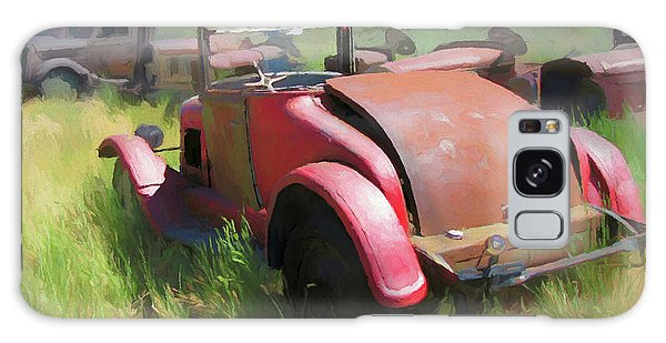 Rusty 1926 Chevy Cabriolet And Friends Galaxy Case