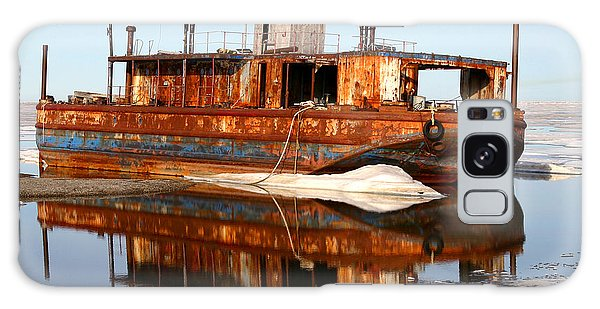 Rusty Barge Galaxy Case
