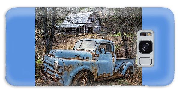 Rusty Blue Dodge Galaxy Case