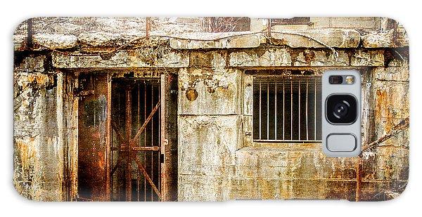 Rusty Brig At Fort Hancock Galaxy Case