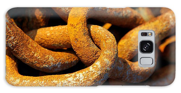 Rusty Chain Galaxy Case - Rusty Chain by Carlos Caetano