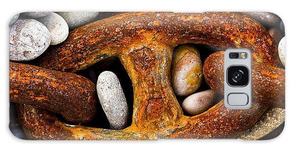 Rusty Chain Galaxy Case by Gabor Pozsgai