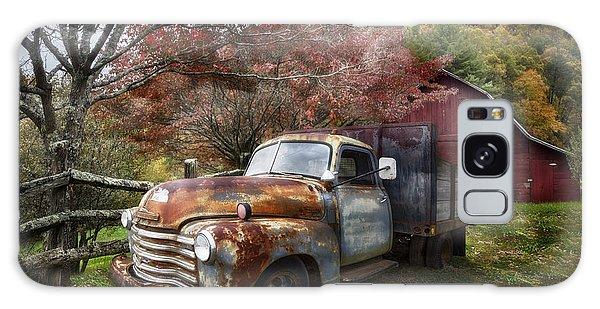 Rusty Chevy Pickup Truck Galaxy Case