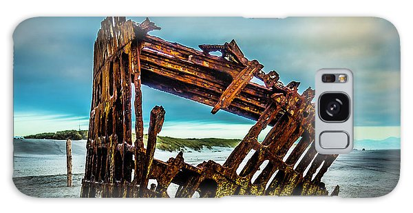 Peter Iredale Galaxy Case - Rusty Forgotten Shipwreck by Garry Gay